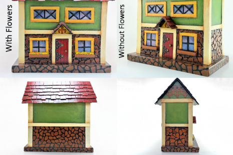 Bavarian Stone House - Closeups