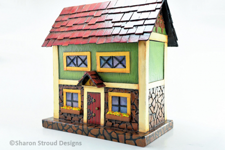 Bavarian Stone House - Right Side