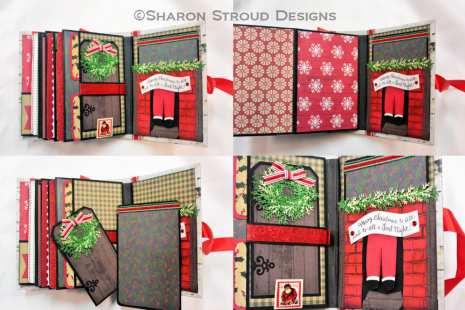 Deck The Halls Pages Collage