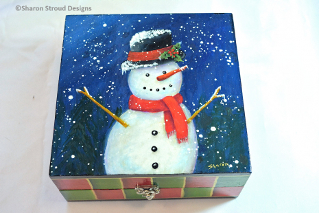 Happy Snowman Top Angle