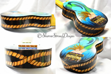 Sides of Treasure Ukulele