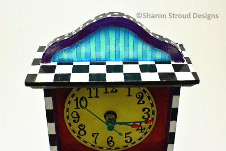 Whimsical Trinket Box Clock Face