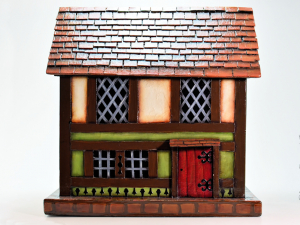Old Bavarian House Box - Front