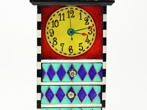 Whimsical Trinket Box Clock