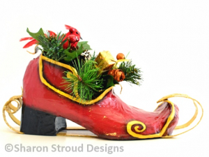 Santa's Whimsical Sleigh - Right Side