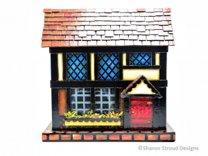 Old Fashioned Christmas Town Box Collection - Bavarian Cottage