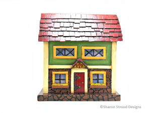 Bavarian Stone House Box