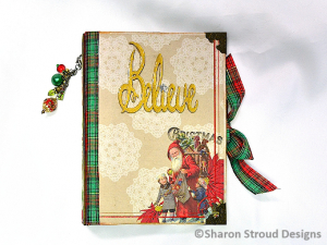 Believe in Christmas Interactive 6x8 Mini Scrapbook Album