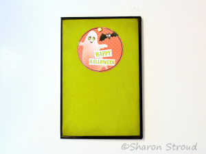 Boo Halloween 5x7 Folio Mini Scrapbook Album