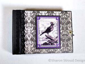 Classic Gothic 5x7 Mini Scrapbook