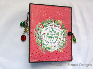 Holly & Jolly Christmas Interactive 6x8 Mini Scrapbook Album