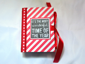 The Most Wonderful Time 5x7 Mini Scrapbook Album