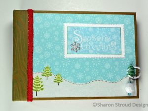 Seasons Greetings 5x7 Mini Scrapbook Album