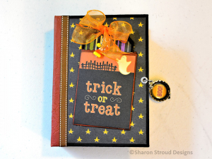 Trick Or Treat 5x7 Mini Scrapbook