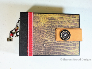 World Traveler 5x7 Mini Scrapbook Album